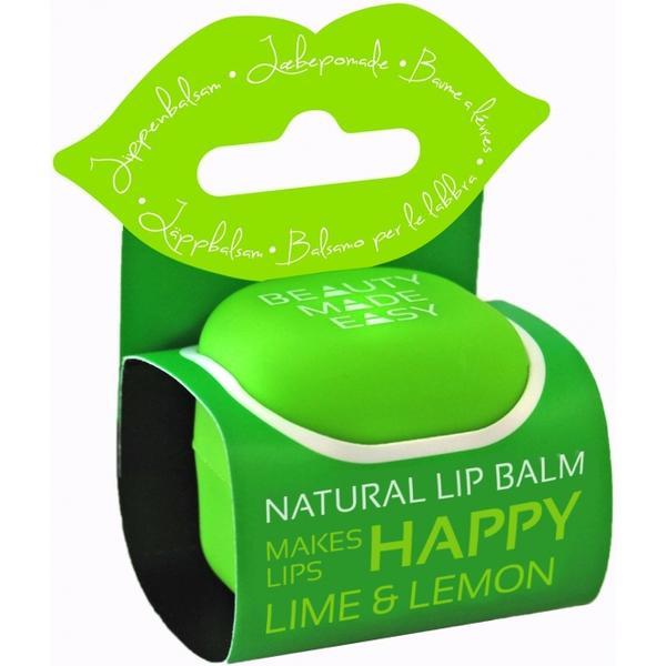 Balsam Natural de Buze cu Lime si Lamaie Beauty Made Easy, 7 g poza
