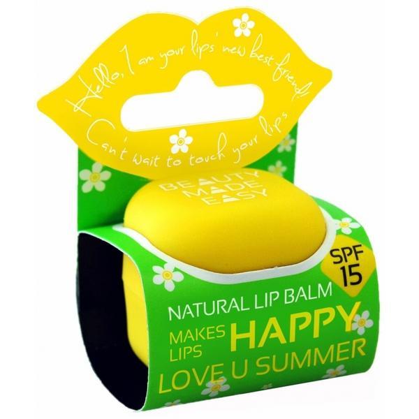 Balsam Natural de Buze SPF 15 cu Monoi si Cocos Beauty Made Easy, 7 g poza