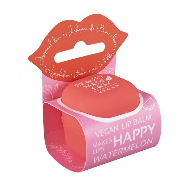 Balsam Natural de Buze cu Pepene Rosu si Aloe Vera Beauty Made Easy, 6,8 g poza