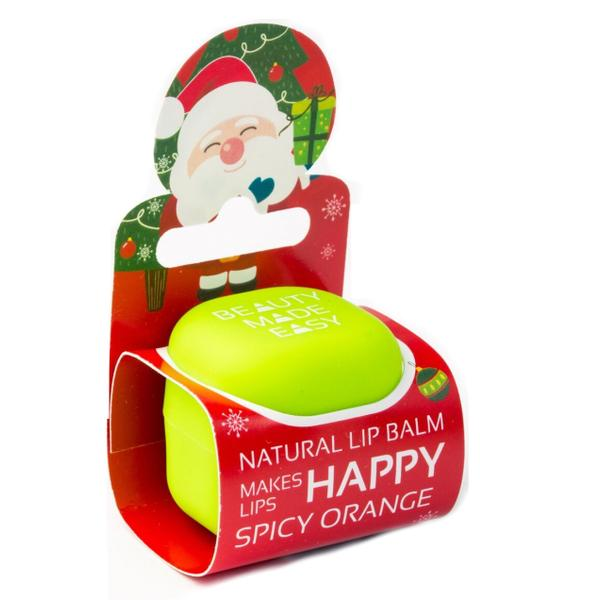 Editie Limitata - Balsam Natural de Buze Spicy Orange cu Portocale Beauty Made Easy, 6,8 g poza