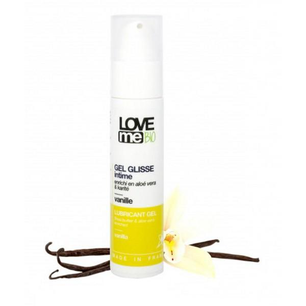 Gel Lubrifiant Intim cu Aroma de Vanilie Love me Bio, 50ml imagine produs