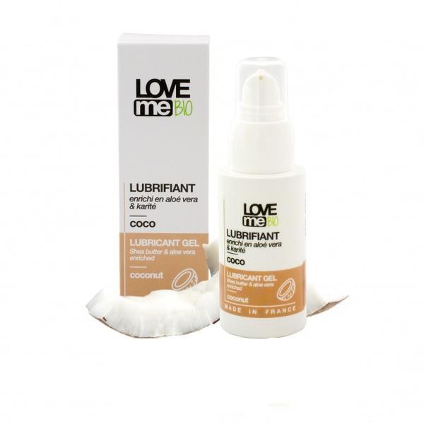Gel Lubrifiant cu Aroma de Cocos Love Me Bio, 50ml imagine produs