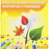 Carte de colorat cu ghicitori - Anotimpuri si fenomene, editura Ars Libri