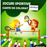 Jocuri sportive - Carte de colorat, editura Ars Libri