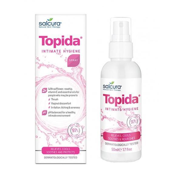 Spray Tratament pentru Igiena Intima Topida Salcura, 50ml