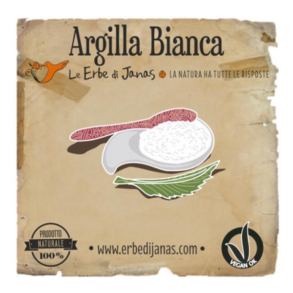 Argila Alba Le Erbe di Janas, 50g imagine produs