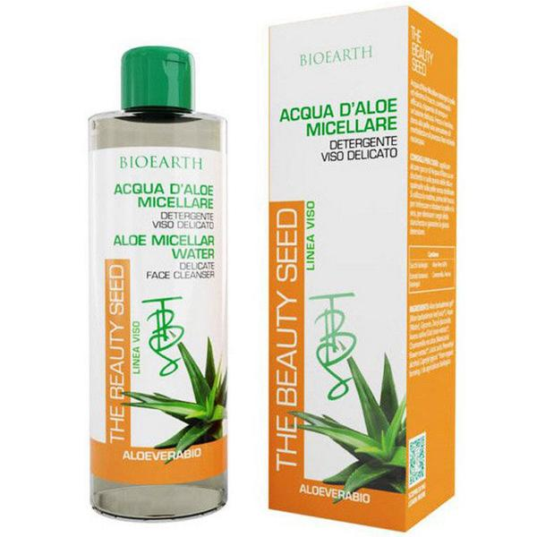 Lotiune Micelara Demachianta Bio cu Aloe, Ovaz si Musetel Bioearth, 200 ml imagine