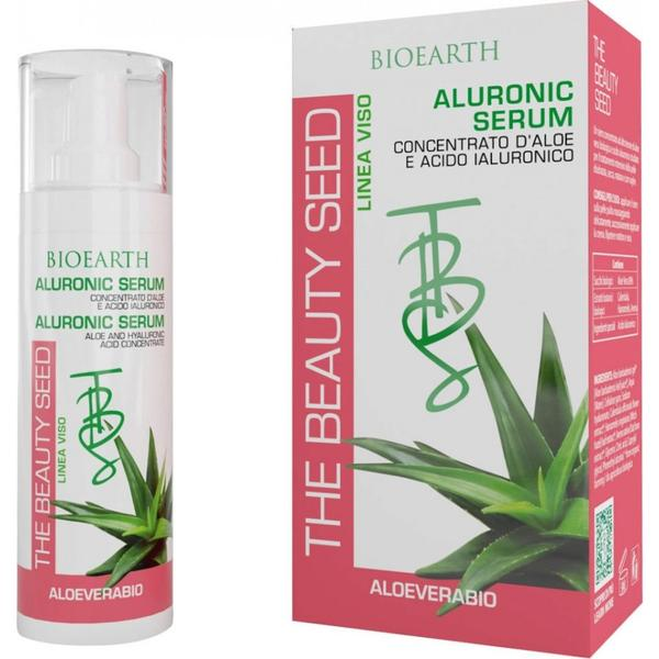 Aluronic Serum Aloe cu Acid Hialuronic Bioearth, 30 ml imagine