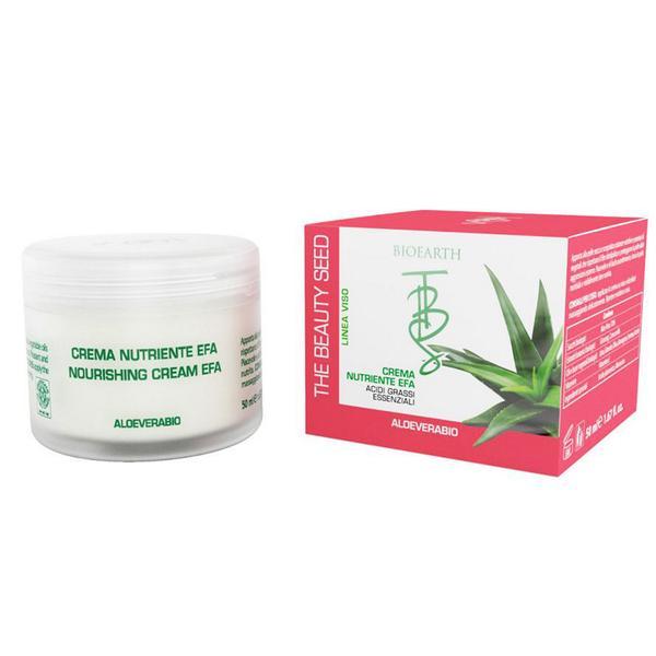 Crema Nutritiva pentru Ten Uscat si Deshidratat Bioearth, 50 ml imagine
