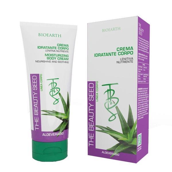 Crema de Corp Hidratanta cu Aloe Vera, Argan si Rosa Mosqueta Bioearth, 200 ml
