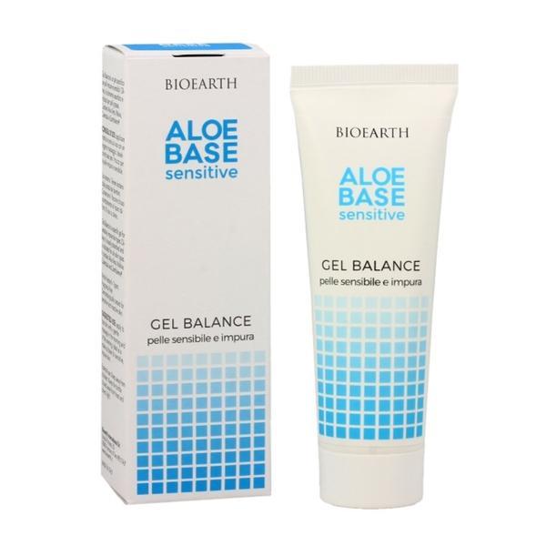 Gel pentru Ten Acneic Aloebase Bioearth, 50 ml esteto.ro