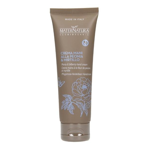 Crema de Maini cu Bujor si Afine MaterNatura, 40ml imagine