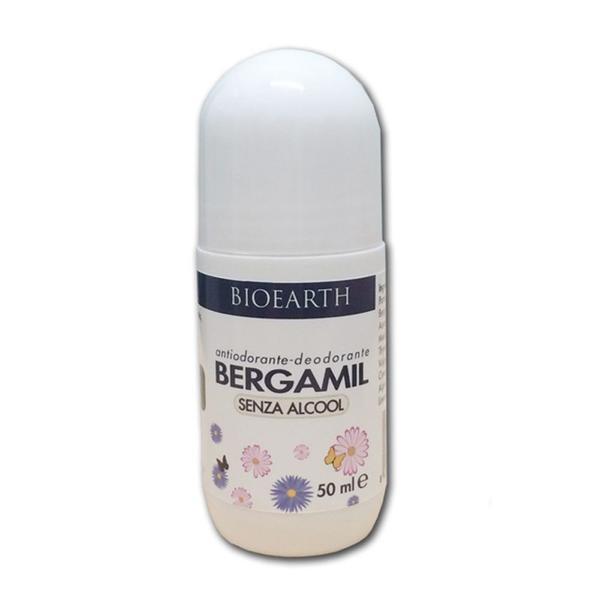 Deodorant Roll-On Bergamil Bioearth, 50 ml imagine produs