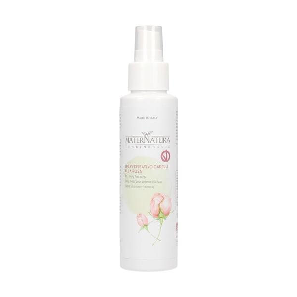 Spray Fixativ cu Trandafir de Damasc MaterNatura, 100ml imagine
