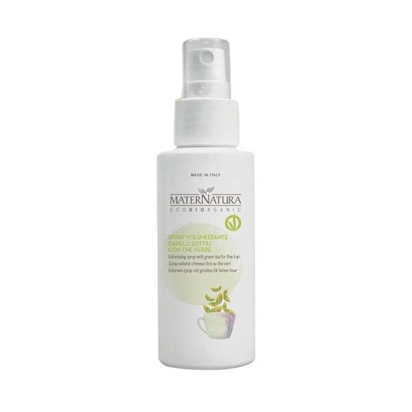 Spray pentru Volum Par Fin cu Ceai Verde MaterNatura, 100ml imagine