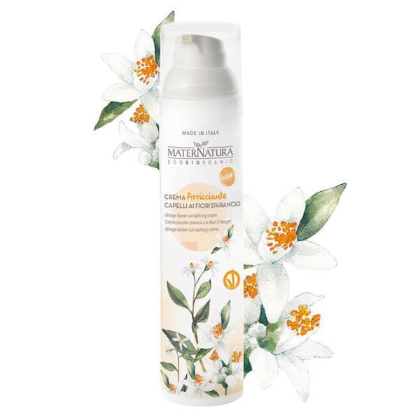 Crema Definire Bucle cu Flori de Portocale MaterNatura, 100ml imagine produs