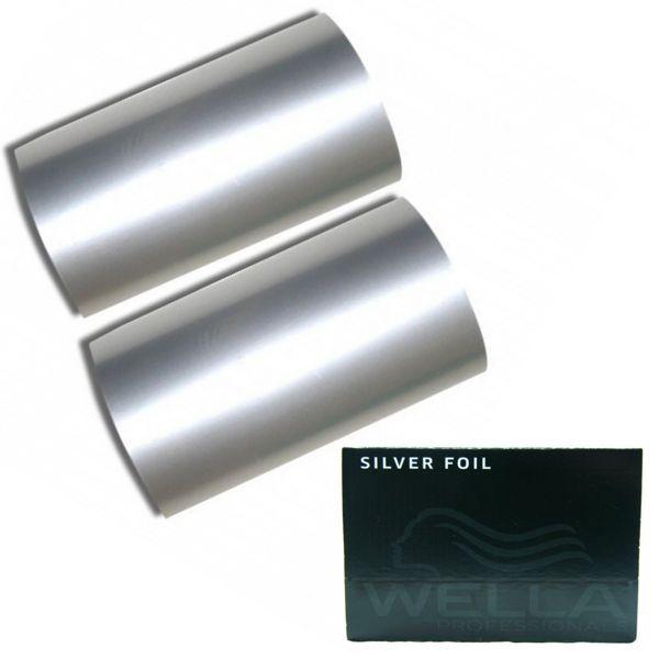 Rola Folie Aluminiu Argintie Suvite - Wella Professional Aluminium Foil Silver imagine produs