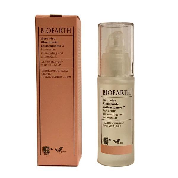 Ser pentru Ten Efect Antioxidant cu Alge Bioearth, 30 ml