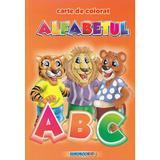 Alfabetul- Carte de colorat A5, editura Eurobookids