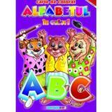 Alfabetul in culori - Carte de colorat, editura Eurobookids