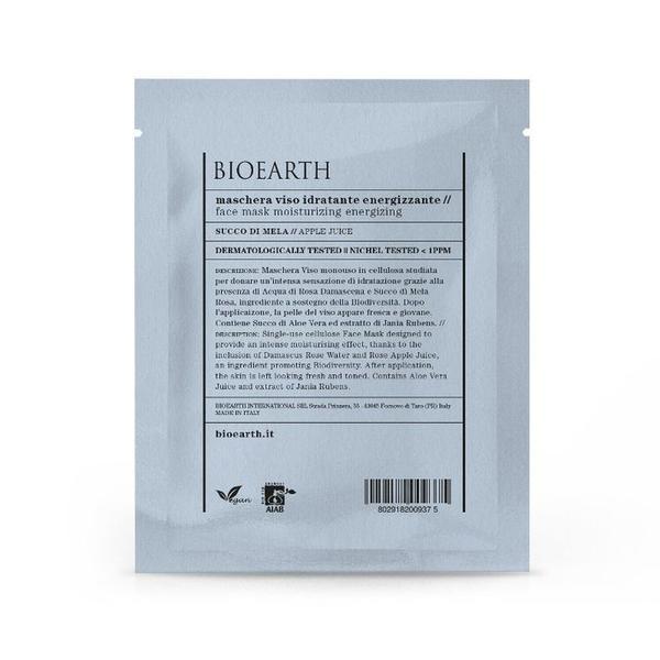 Masca pentru Ten Energizanta cu Suc de Mere -Tip Servetel - Bioearth, 1 buc esteto.ro