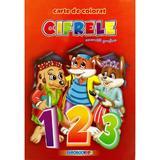 A5 - Cifrele - Exercitii grafice - Carte de colorat, editura Eurobookids