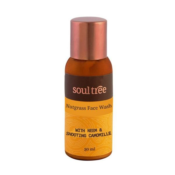 Gel de Curatare pentru Ten cu Nutgrass Soultree, 30 ml imagine