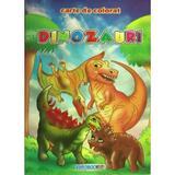 Dinozauri A5 - Carte de colorat, editura Eurobookids