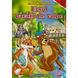 Ursul pacalit de vulpe - Carte de colorat, editura Eurobookids