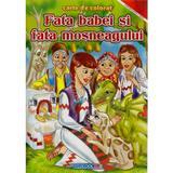 Fata Babei si Fata Mosului - Carte de colorat, editura Eurobookids