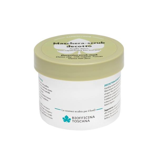 Masca de Par Detoxifianta cu Argila Verde Biofficina Toscana, 200 ml