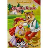 Scufita Rosie - Carte de colorat, editura Eurobookids