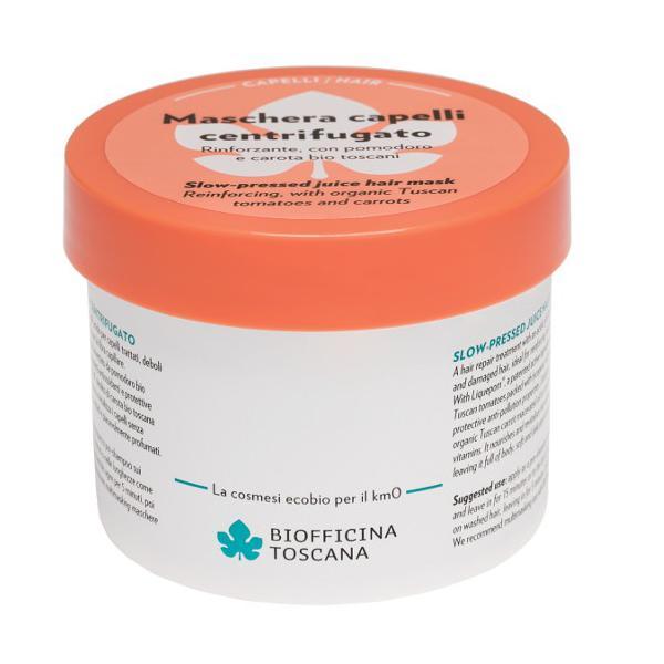 Masca pentru Par Degradat sau Vopsit cu Liquepom Biofficina Toscana, 200 ml imagine