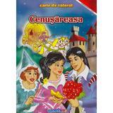 Cenusareasa - Carte de colorat, editura Eurobookids