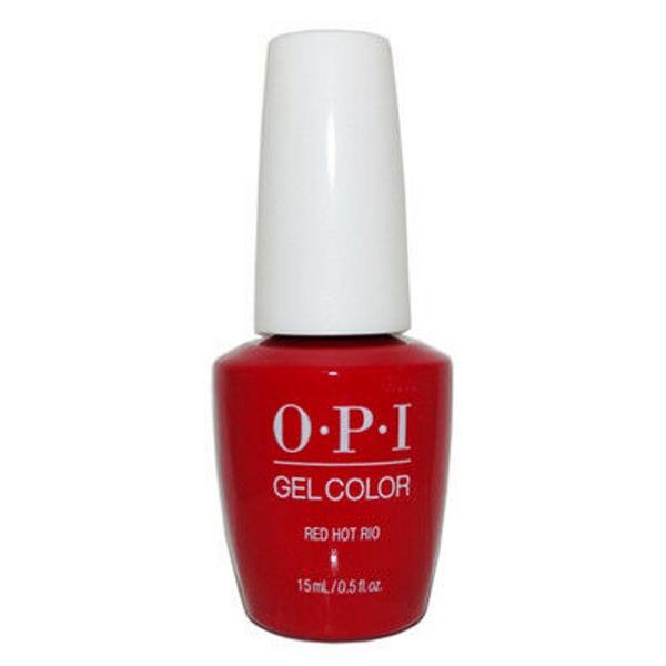 Lac de Unghii Semipermanent - OPI Gel Colour Red Hot Rio, 15 ml