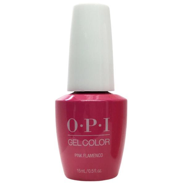 Lac de Unghii Semipermanent - OPI Gel Colour Pink Flamenco, 15 ml