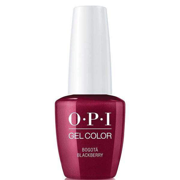 Lac de Unghii Semipermanent - OPI Gel Colour Bogota Blackberry, 7,5 ml