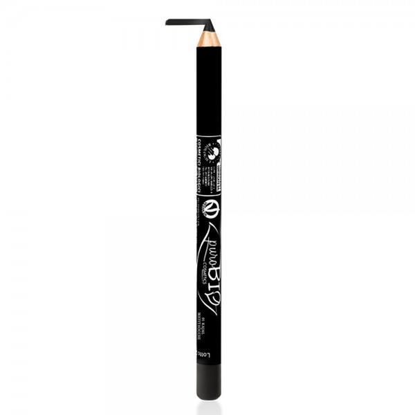 Creion de Ochi Kajal Negru 01 PuroBio Cosmetics, 1.3g poza