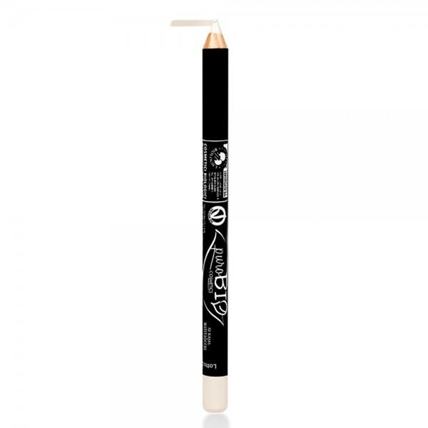 Creion de Ochi Kajal Alb 02 PuroBio Cosmetics, 1.3g imagine