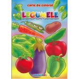 Legumele - Carte de colorat, editura Eurobookids