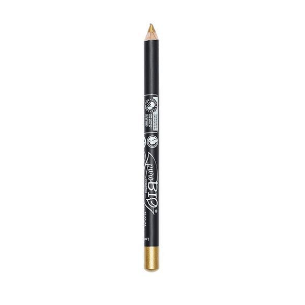 Creion de Ochi Bio Galben-Auriu 45 PuroBio Cosmetics, 1.3g imagine