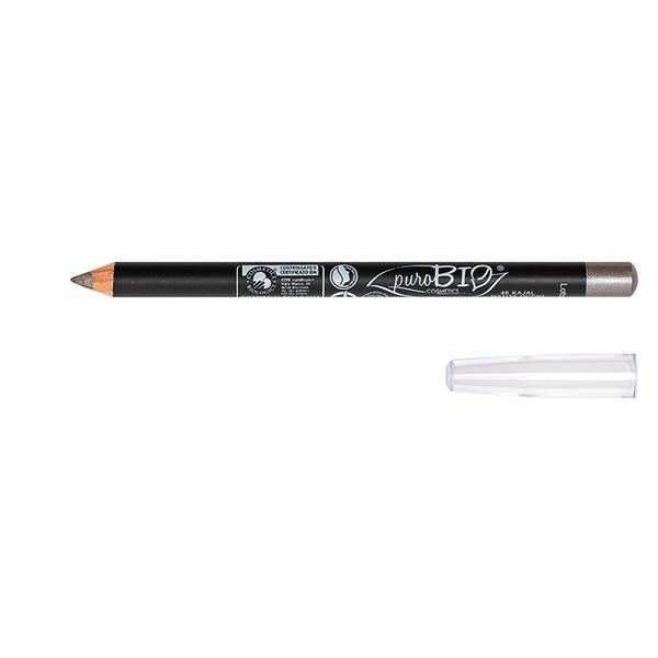 Creion de Ochi Bio Gri Argintiu 46 PuroBio Cosmetics, 1.3g imagine
