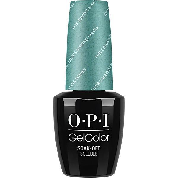 Lac de Unghii Semipermanent - OPI Gel Colour This Color's Making Waves, 15 ml