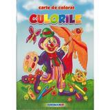Culorile - Carte de colorat, editura Eurobookids