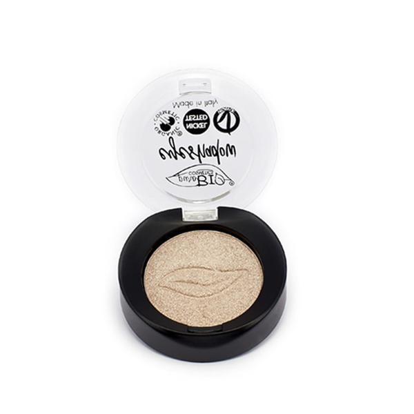 Fard de Pleoape Sidefat Sampanie 01 PuroBio Cosmetics, 3.5 g imagine