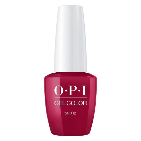 Lac de Unghii Semipermanent - OPI Gel Colour OPI Red, 15 ml