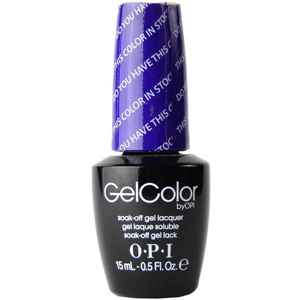 Lac de Unghii Semipermanent - OPI Gel Color Do You Have This Color in Stockholm, 15 ml
