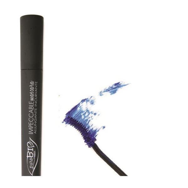 Rimel Bio Blu Impeccable PuroBio Cosmetics, 10ml imagine produs