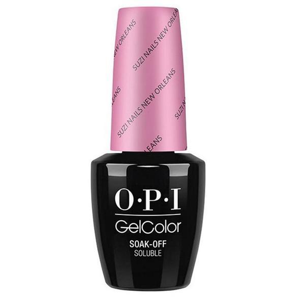 Lac de Unghii Semipermanent - OPI Gel Color Suzi Nails New Orleans, 15 ml
