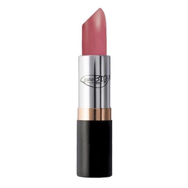 Ruj de Buze Dark Pink 09 PuroBio Cosmetics, 3.5g poza